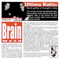 Ultima Ratio - Brainwash, CD