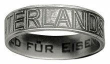 Ring - Vaterlands-Dank-Ring mit Innengravur