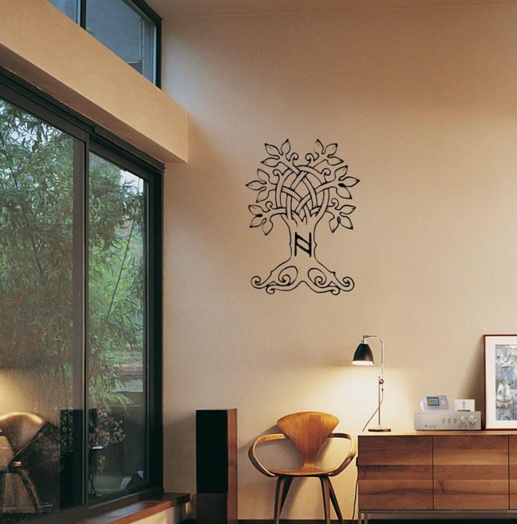 dw wandaufkleber lebensbaum. Black Bedroom Furniture Sets. Home Design Ideas